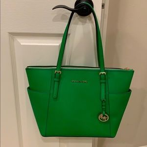 Michael Kors New Green Bag